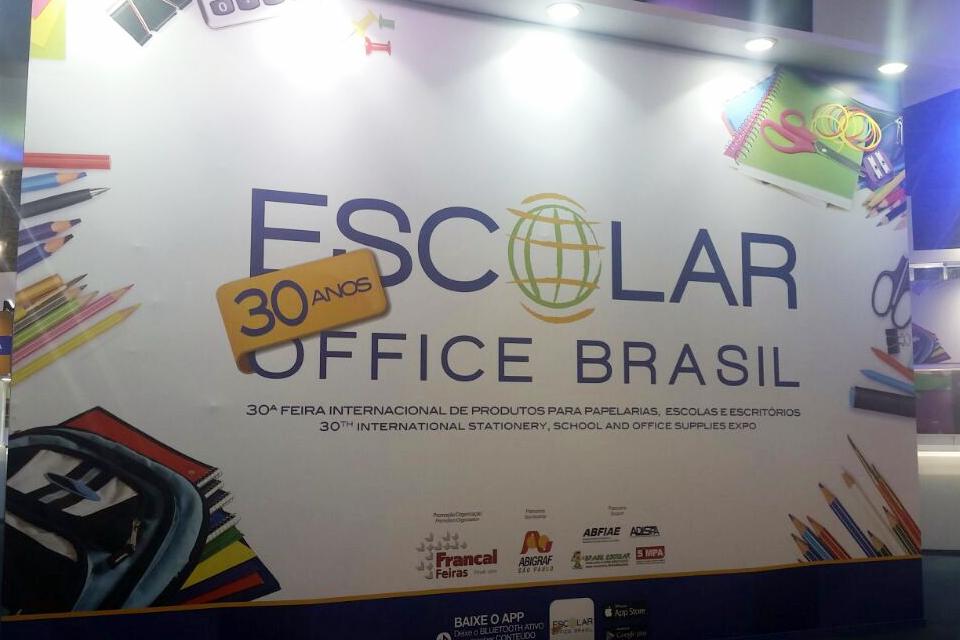 Shoppingráfica participou da 30ª Escolar Office Brasil 2016 em São Paulo (SP)