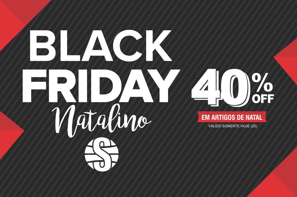 Shoppingráfica promove Black Friday Natalino com 40% de desconto em produtos