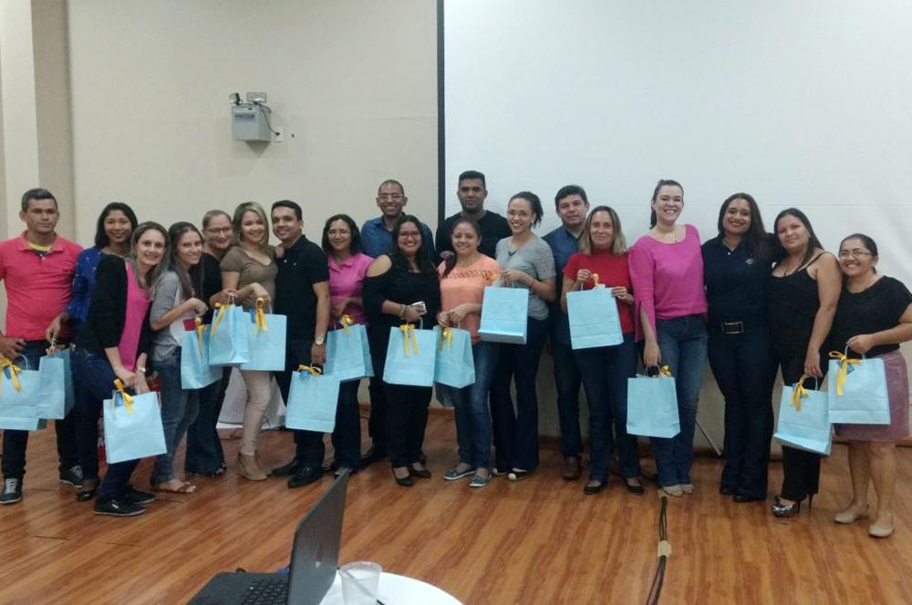 Equipe de vendas passa por treinamento com a Euro Representações Piauí